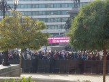 Picture:  Дреме им! Депутатите въобще нехаят за протестите навън!