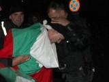 Picture: Извънредно! Протестиращи блокираха Станишев край Руското посолство!