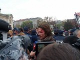 Picture: Полицията бие протестиращите студенти пред парламента!