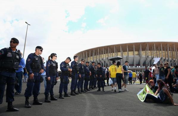 Бразилски полицаи
