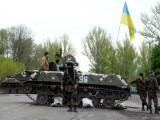 Picture: Проруските бунтовници отвличат международни наблюдатели