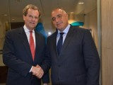 Picture: Бойко Борисов се срещна с изп. директор на Американския еврейски комитет Дейвид Харис