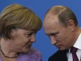 "Picture: ""БРАЗУКА"" среща Путин и Меркел"