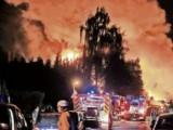 Picture: Взрив в химически завод в Германия, евакуират 14 000 души