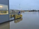 Picture: Граничен пункт Капитан Андреево е под вода