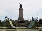 Сноуборд състезание в центъра на София