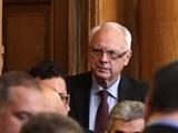 Picture: Велизар Енчев – изключен от комисиите в НС
