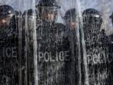 Picture: Десетки ранени при протест на косовски албанци в Прищина