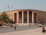 Picture: Обраха банка в Албания