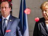 Picture: Меркел и Оланд на крака при Путин с план за мир в Украйна