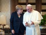 Picture: Ангела Меркел на частна аудиенция при папата