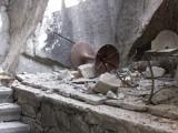 Picture: Скали се срутиха върху две къщи в Пловдив