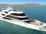 Луксозен кораб заседна край Бермудите