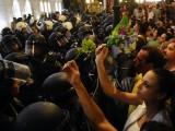 Picture: Контрапротестът: В Македония се разиграва украински сценарии