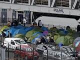 Мигрантски лагер без санитарни възли в центъра на Париж